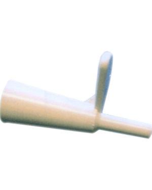 Øreskyllmunnstykke plast m/vinge