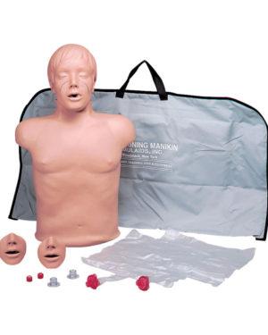Dukke komplett Simulaid Brad med nylon bag