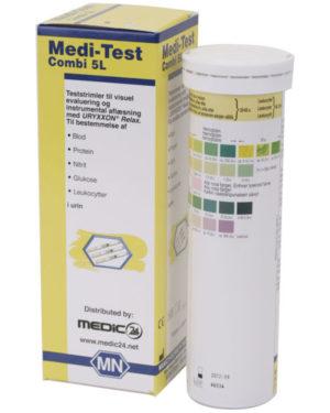 URYXXON / Medi-Test C5L urinstixs