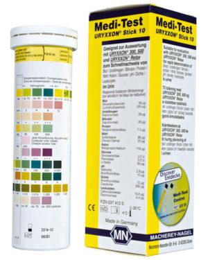URYXXON / Medi-Test 10 urinstrimmel