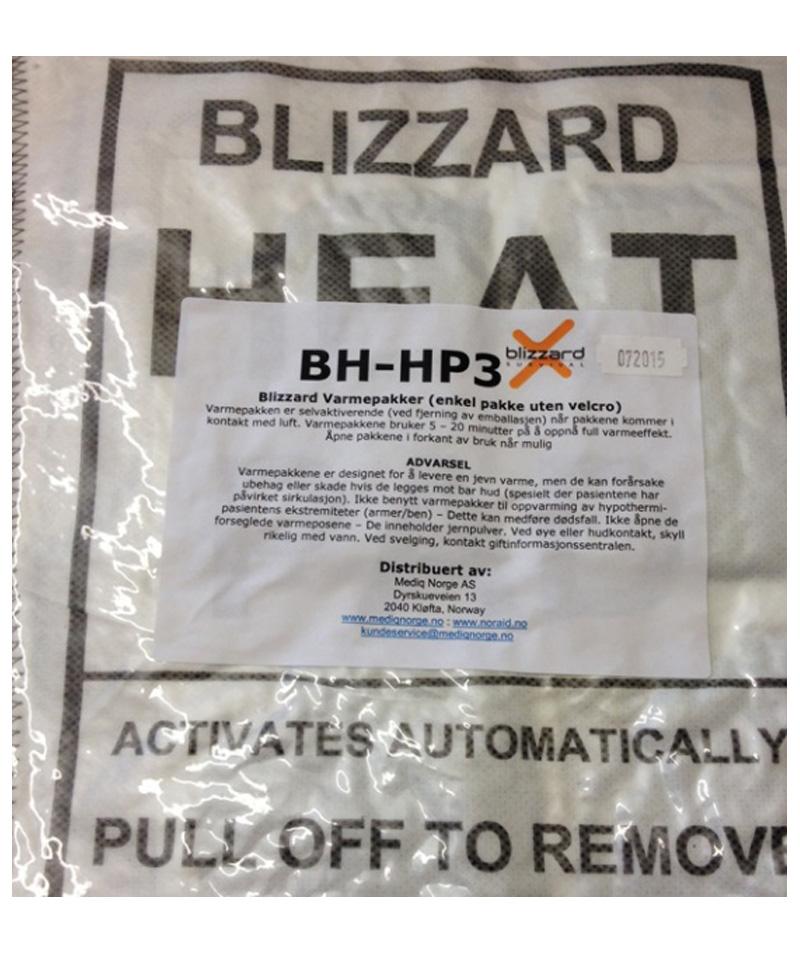 Blizzard aktive 24 timers varmepakninger panel