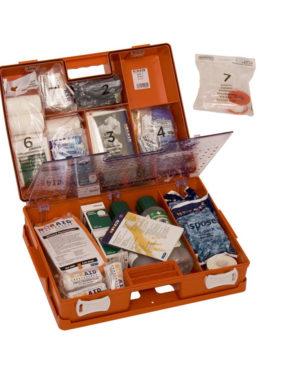 Noraid Førstehjelp koffert m/innhold stor