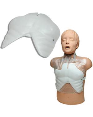 Brystplate til treningsdukke Simulaids Brad