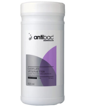 Antibac 75% våtserviett overflate 6 pk