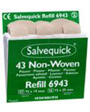Salvequick plaster nw refill 43strips 6943
