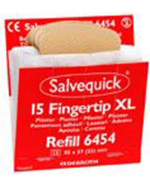 Salvequick plaster tekstil fingertupp refill 15stk / eske a 60