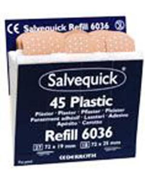 Salvequick plaster plast refill 45strips / eske a 60